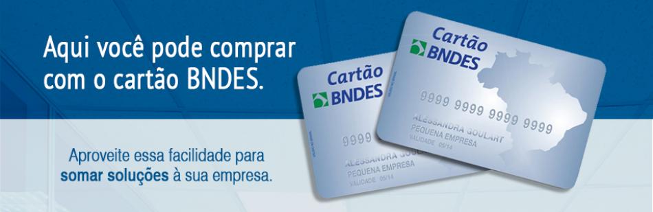 Compre com cartão BNDS