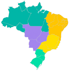Mapa de Representantes Metalmaq