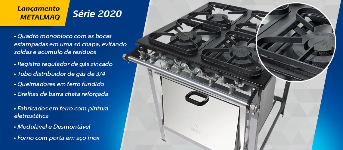 Fogões 2020 Metalmaq